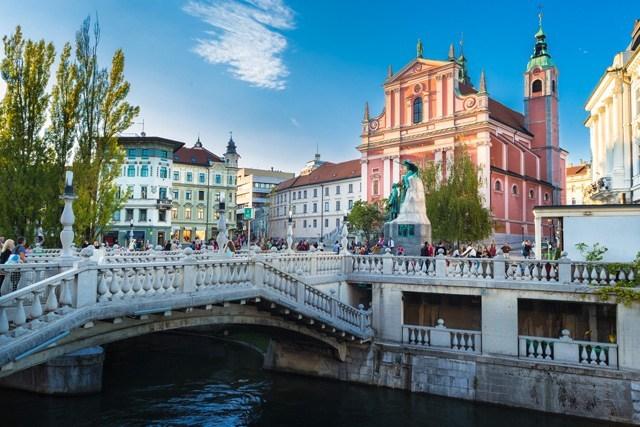 LjubLjana in Slovenïe