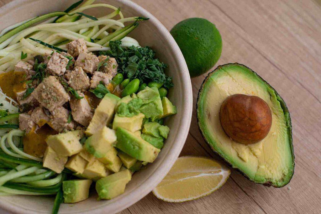 Avocado salade